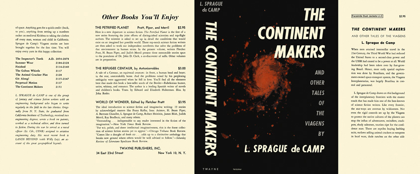 Continent Makers and Other Tales of the Viagens, The. L. Sprague de Camp