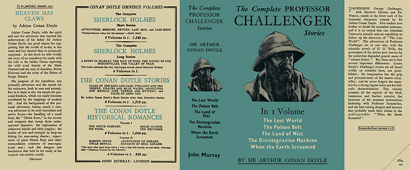 Complete Professor Challenger Stories, The. Sir Arthur Conan Doyle