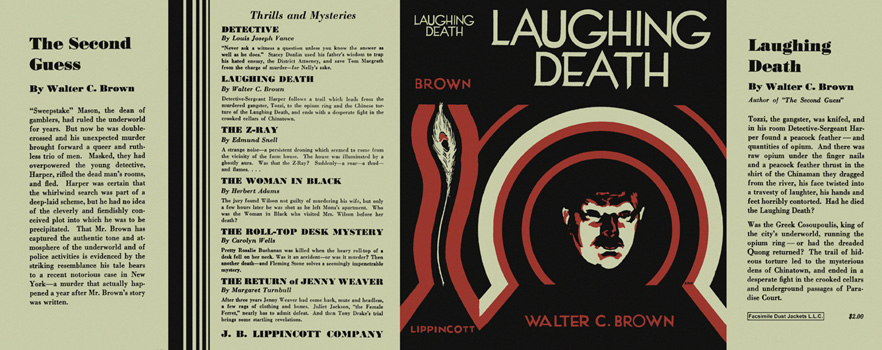Laughing Death. Walter C. Brown.