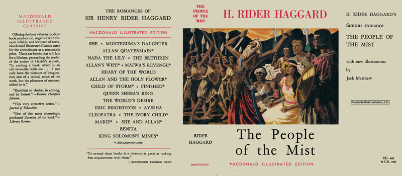People of the Mist, The. H. Rider Haggard