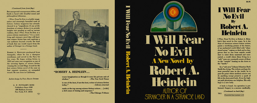 I Will Fear No Evil. Robert A. Heinlein.