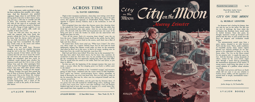 City on the Moon. Murray Leinster