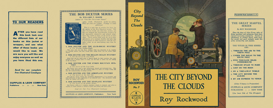 City Beyond the Clouds, The. Roy Rockwood