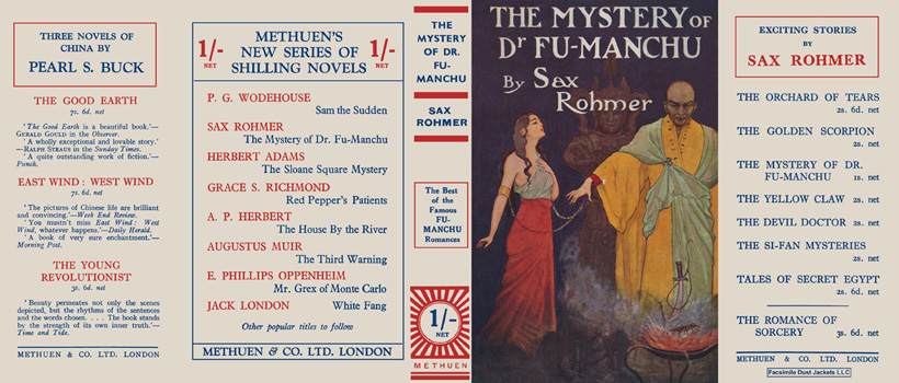 Mystery of Dr. Fu-Manchu, The. Sax Rohmer
