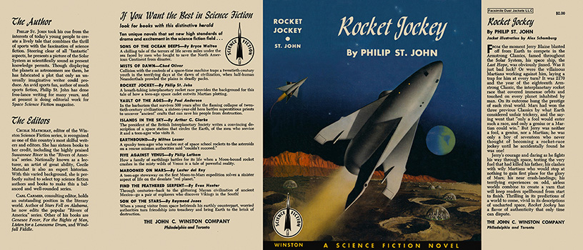 Rocket Jockey. Philip St. John.