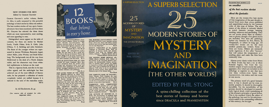 25 Modern Stories of Mystery and Imagination. Phil Stong, Anthology