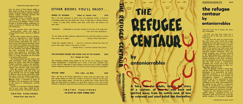 Refugee Centaur, The. Antoniorrobles, Antonio Robles Soler