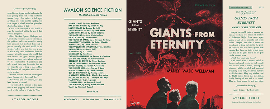 Giants from Eternity. Manly Wade Wellman.