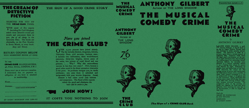 Musical Comedy Crime, The. Anthony Gilbert.