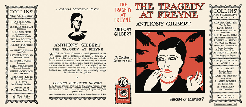 Tragedy at Freyne, The. Anthony Gilbert.