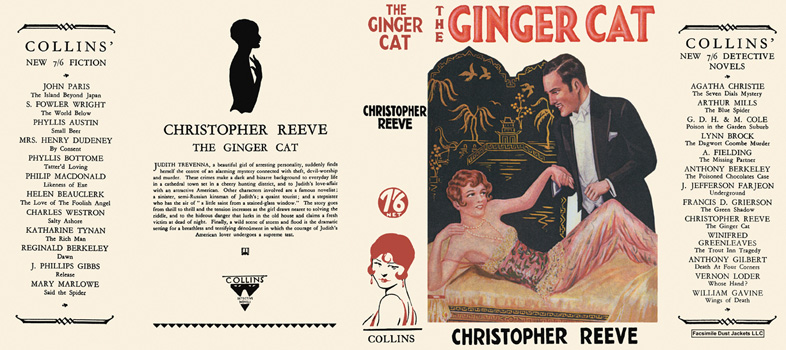 Ginger Cat, The. Christopher Reeve.