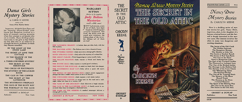 Nancy Drew #21: Secret in the Old Attic, The. Carolyn Keene.