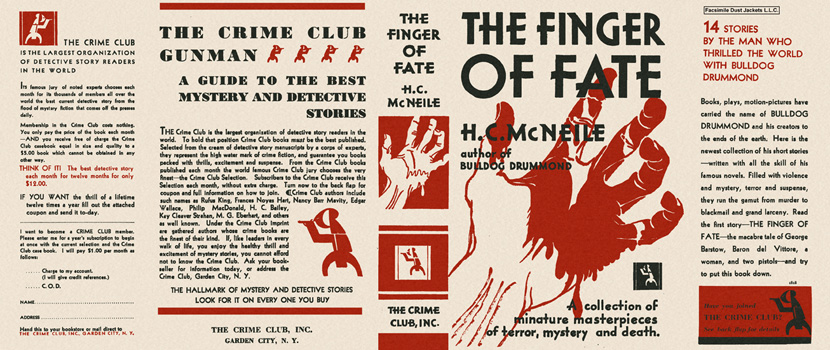 Finger of Fate, The. H. C. McNeile.