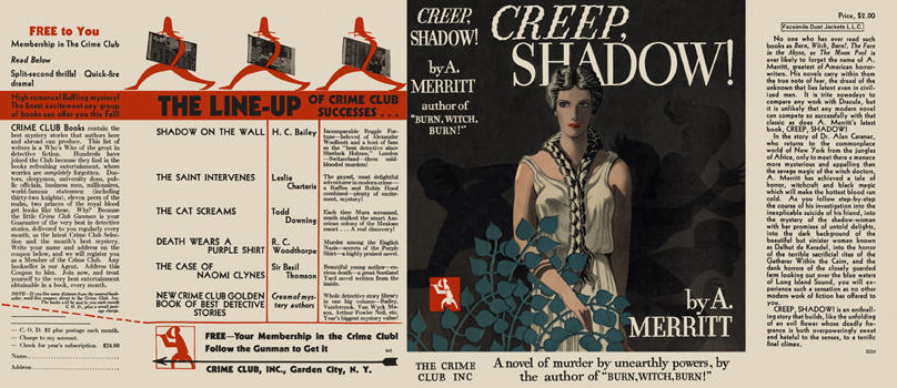 Creep, Shadow! A. Merritt.