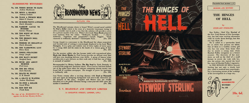 Hinges of Hell, The. Stewart Sterling.