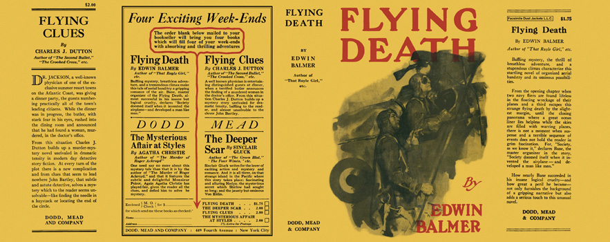 Flying Death. Edwin Balmer.