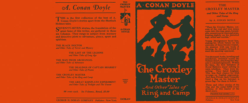 Croxley Master and Other Tales of Ring and Camp, The. Sir Arthur Conan Doyle