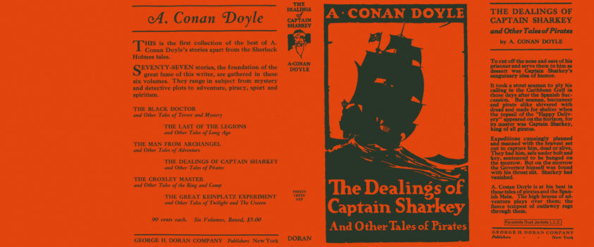 Dealings of Captain Sharkey and Other Tales of Pirates, The. Sir Arthur Conan Doyle