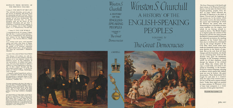 History of the English-Speaking Peoples, Volume IV, The Great Democracies, A. Winston S. Churchill