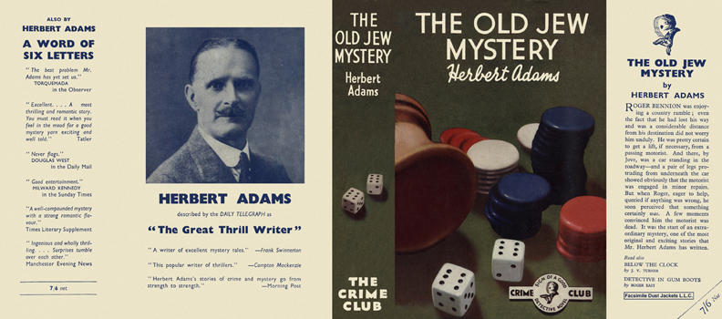 Old Jew Mystery, The. Herbert Adams.