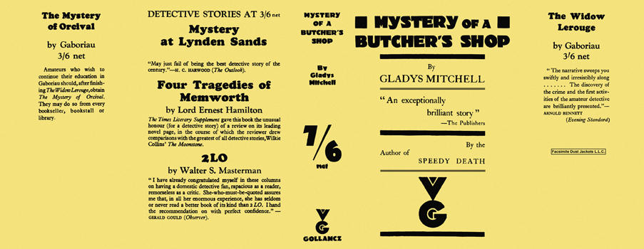 Mystery of a Butcher's Shop. Gladys Mitchell.