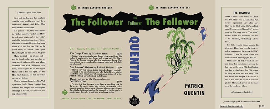 Follower, The. Patrick Quentin.