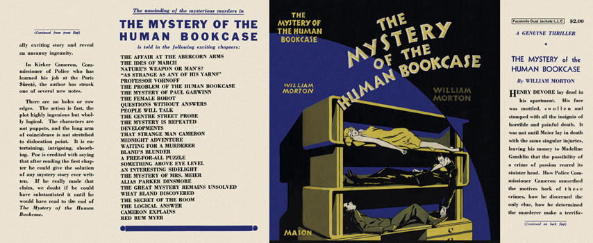 Mystery of the Human Bookcase, The. William Morton.