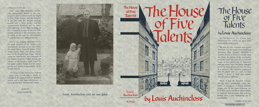 House of Five Talents, The. Louis Auchincloss.