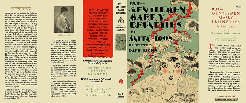 But - Gentlemen Marry Brunettes. Anita Loos, Ralph Barton
