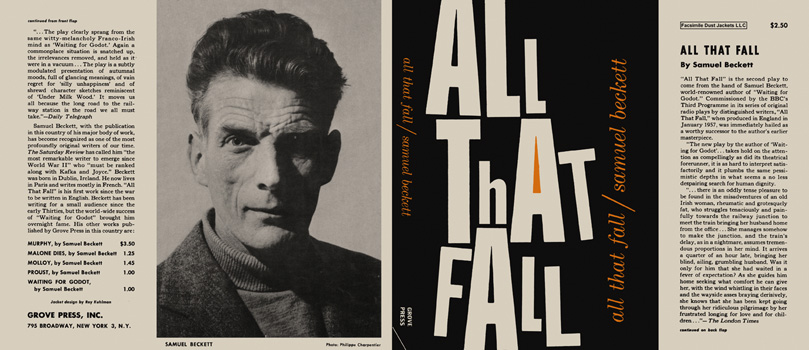 All That Fall. Samuel Beckett.