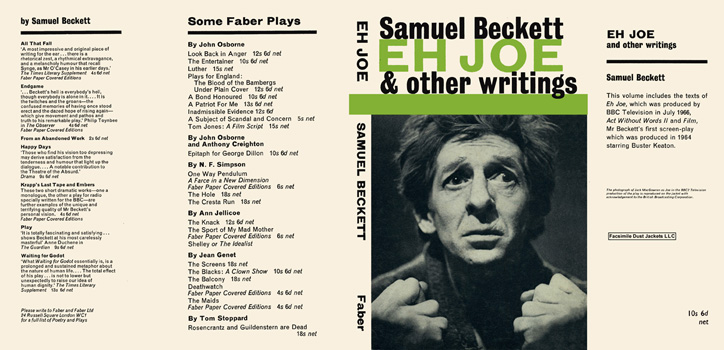 Eh Joe and Other Writings. Samuel Beckett.