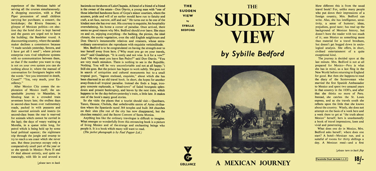 Sudden View, The. Sybille Bedford.