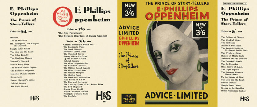 Advice Limited. E. Phillips Oppenheim.
