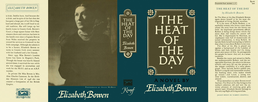 Heat of the Day, The. Elizabeth Bowen.