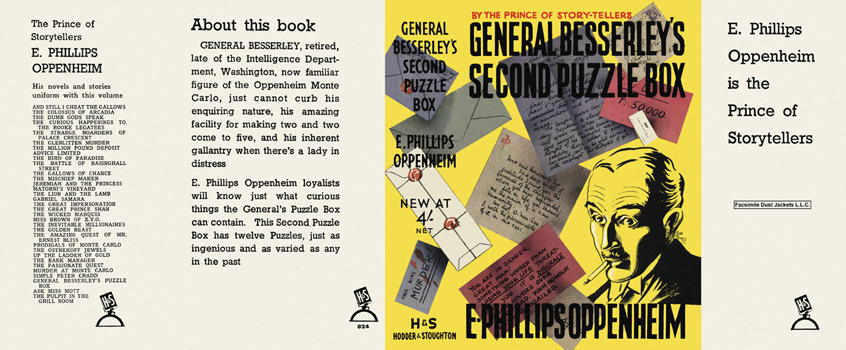 General Besserley's Second Puzzle Box. E. Phillips Oppenheim.