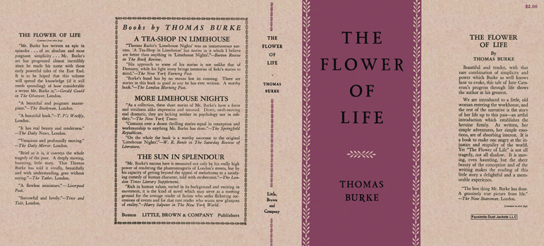 Flower of Life, The. Thomas Burke.