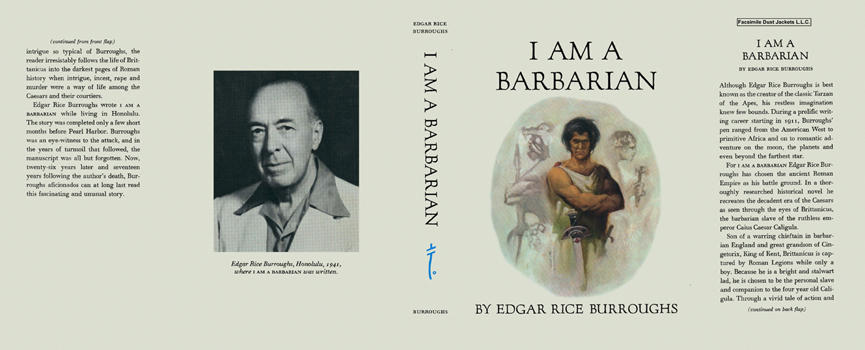 I Am a Barbarian. Edgar Rice Burroughs