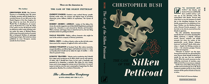 Case of the Silken Petticoat, The. Christopher Bush.