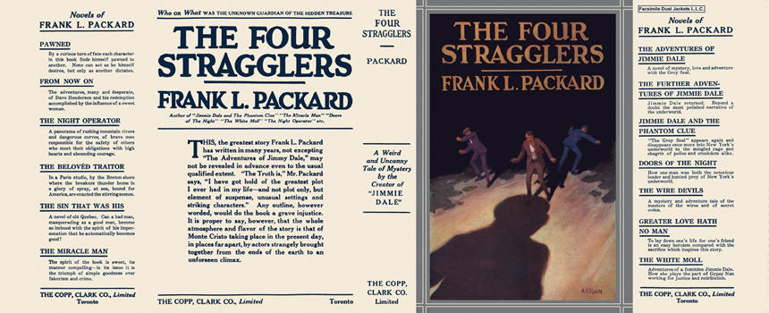 Four Stragglers, The. Frank L. Packard.