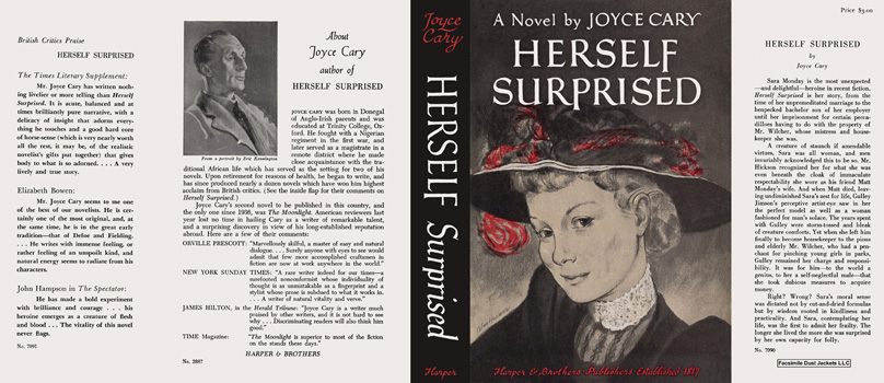 Herself Surprised. Joyce Cary.
