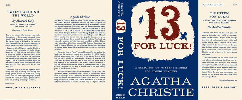 Thirteen for Luck! Agatha Christie.