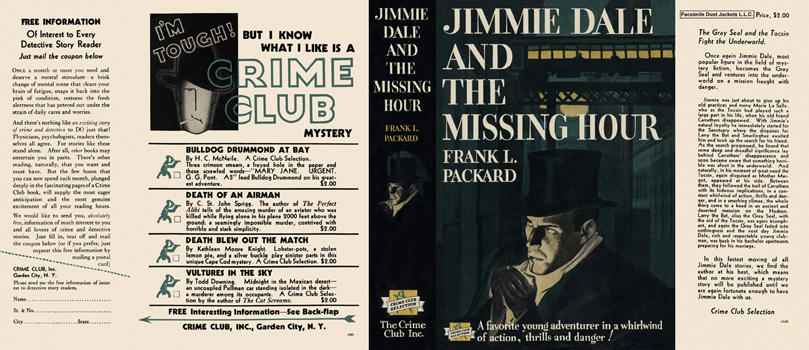 Jimmie Dale and the Missing Hour. Frank L. Packard.