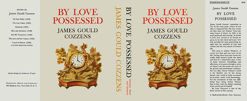 By Love Possessed. James Gould Cozzens.