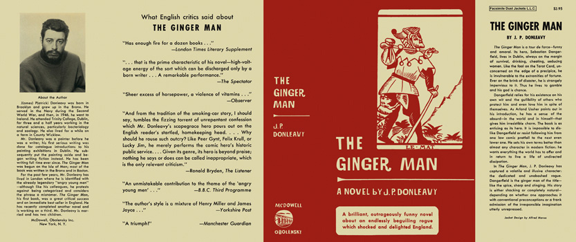 Ginger Man, The. J. P. Donleavy.