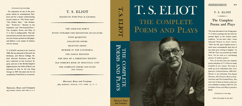 Complete Poems and Plays, The. T. S. Eliot