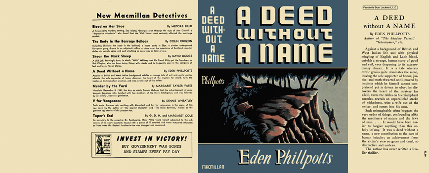 Deed Without a Name, A. Eden Phillpotts.