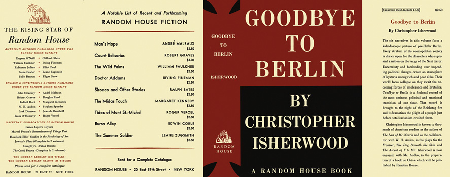 Goodbye to Berlin. Christopher Isherwood