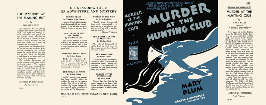 Murder at the Hunting Club. Mary Plum.