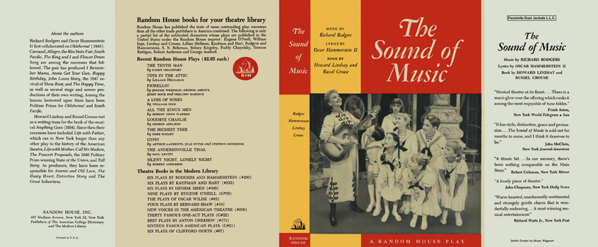 Sound of Music, The. Howard Lindsay, Russel Crouse