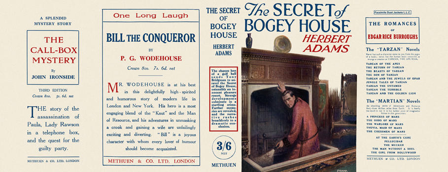 Secret of Bogey House, The. Herbert Adams